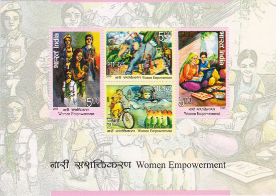 "Commemorative Stamps on ""Women Empowerment"""