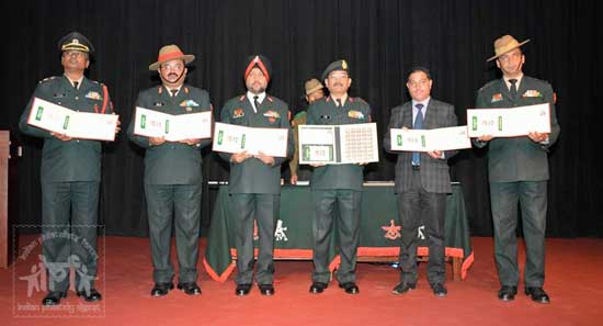 Commemorative Stamps on First Gorkha Rifles and Third Gorkha Rifles