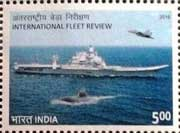 Commemorative Stamp on International Fleet Review