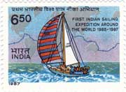 First Indian Sailing Expedition Around the World 1985-1987
