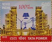 Commemorative Stamp on 100 Years of Tata Power