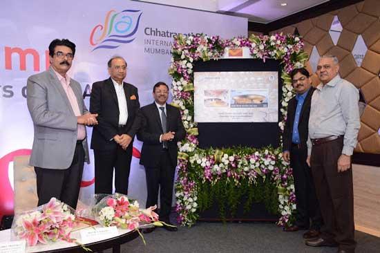 Commemorative Stamps on Chhatrapati Shivaji International Airport