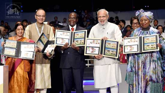 Commemorative Stamps on Third Africa-India Forum Summit (AIFS-III)