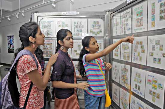 Philatelic Exhibition on Football at Bangalore