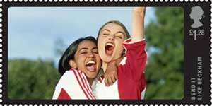 Bend It Like Beckham Stamp Royal Mail