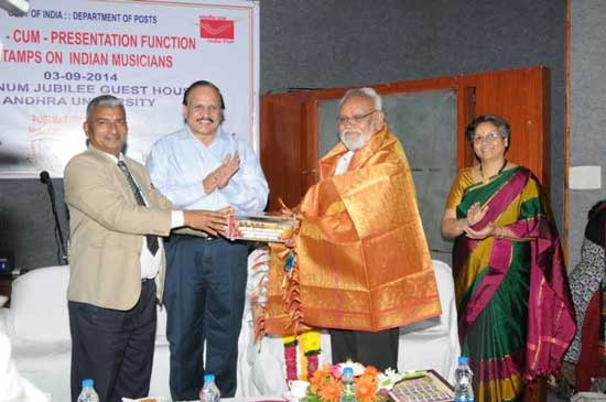 Cdr. G. Sriramarao felicitated