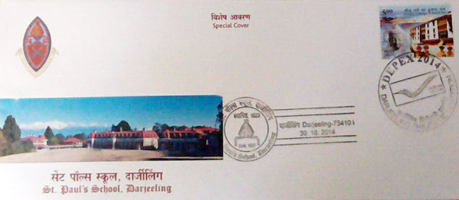Special Cover on St. Paul School, Darjeeling