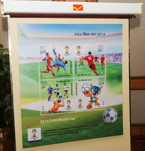 2014 FIFA World Cup Stamp Release Function