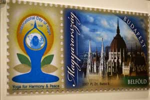Personalised Stamps on International Yoga Day released by Hungary Post