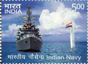 Indian Navy My Stamp