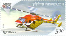 Dhruv Helicopter
