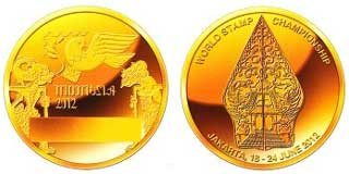 Indonesia 2012 Medal
