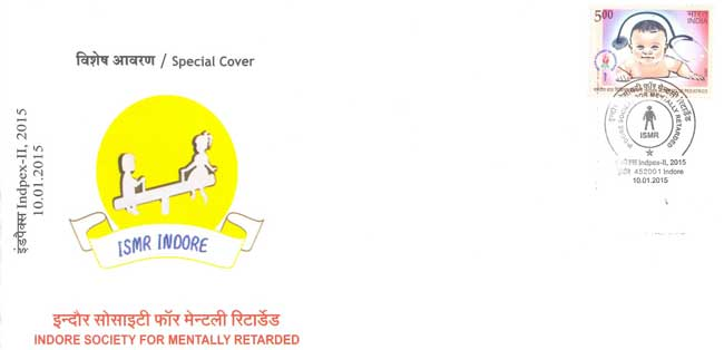 Special Cover on Indore Society for mentally retarded