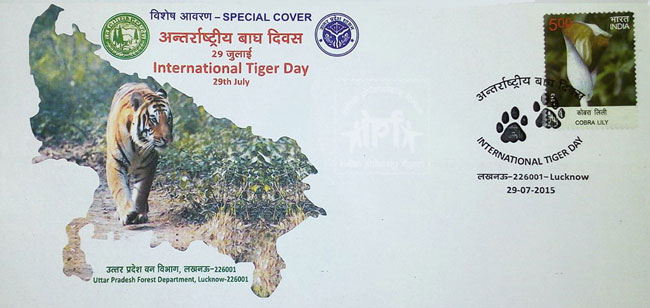 Special Cover on International Tiger Day