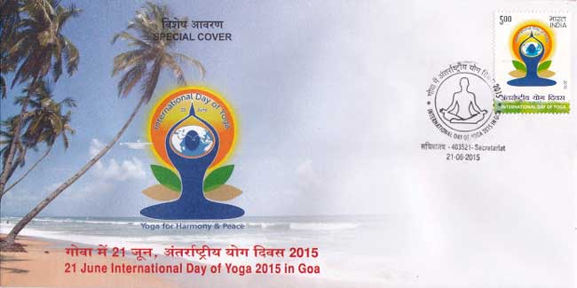 Special Cover on First International Yoga Day