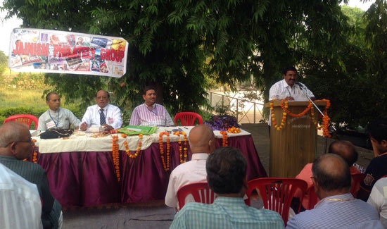 Jainism Philatelic Group (JPG) members meet at Khajuraho (M.P.)