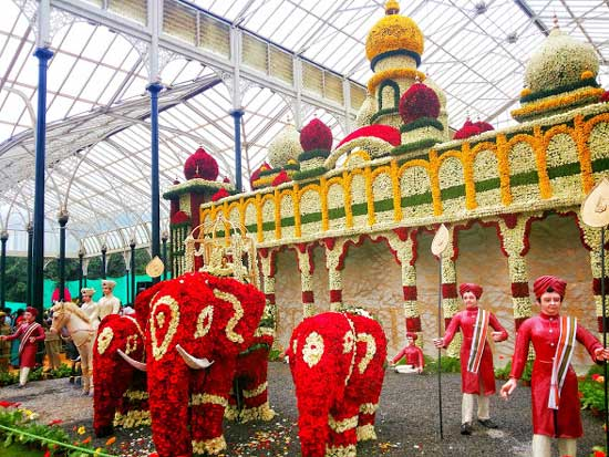 200th Flower Show at Lalbagh, Bangalore
