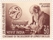 Dr. G.A.Hansen - Centenary of Discovery of leprosy bacillus