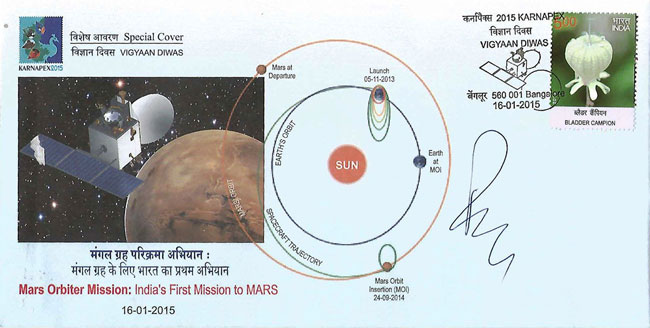Special Cover on Mars Orbiter Mission