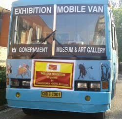 Mobile Philatelic Exhibition, Chandigarh