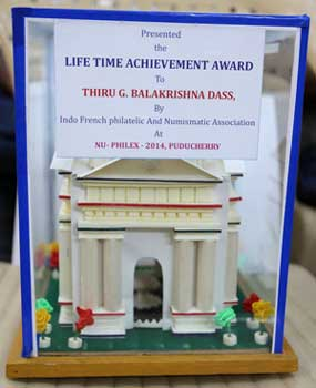 Nuphilex 2014 Life Time Achievement Award