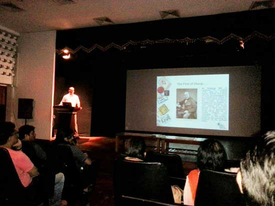Philatelic Talk by Shri M. S. Ramu