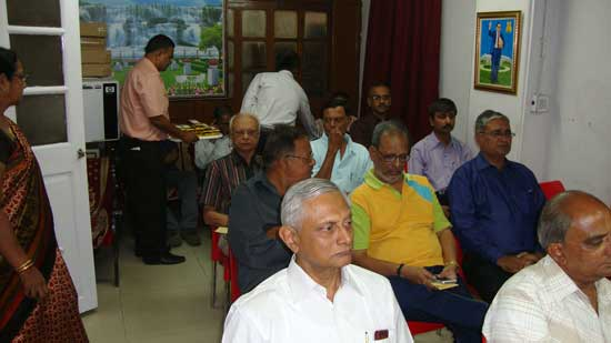Philatelists' meet organized by Philatelic Bureau, Vadodara