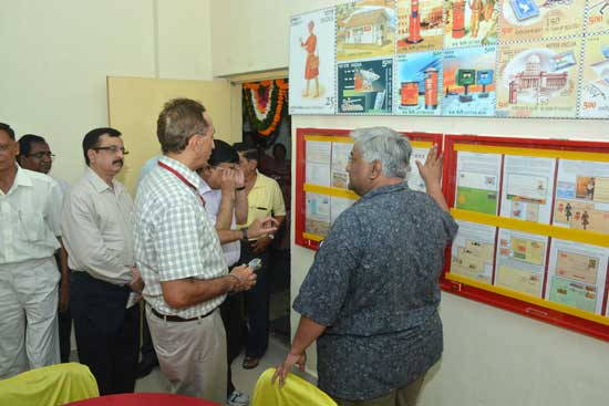 Inauguration of Philately Training Hall at Postal Training Centre, Vadodara