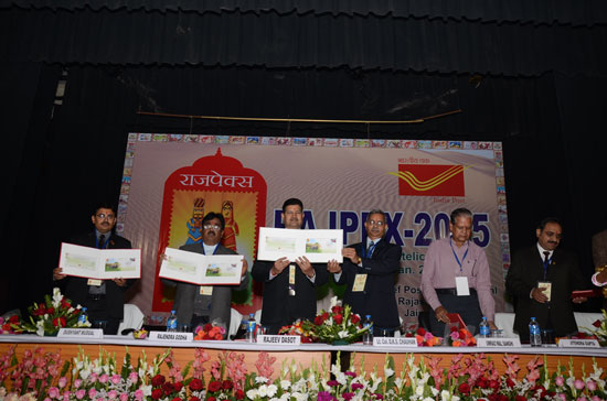 Release of Special Cover on 17th Vintage Car Rally