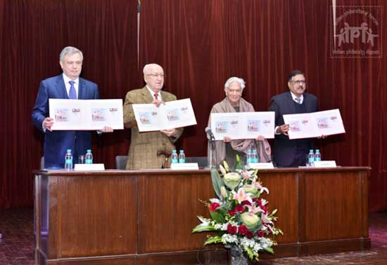 Special Cover on Golden Jubilee of Russian Centre for Science and Culture