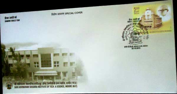 Shri Govindram Seksaria Institute of Technology and Science Special Cover