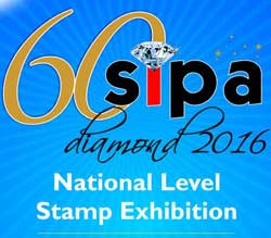 SIPA Diamond 2016, National Level Stamp Exhibition