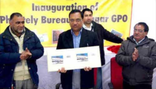 Srinagar Philatelic Bureau Inauguration