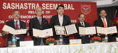 Sashastra Seema Bal Stamp Release