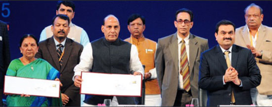 Special Cover on Vibrant Gujarat 2015 – 12th January 2015