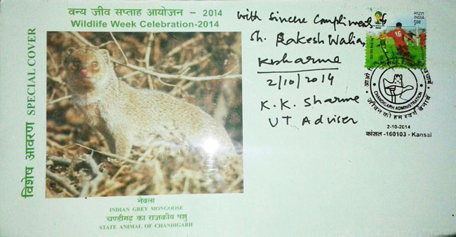 Special Cover on Wildlife Week Celebrations 2014 at Kansal