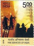 Commemorative stamps on Fire Services of India