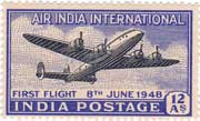 Air India International First Fligt