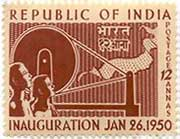 Inauguration of Republic of India