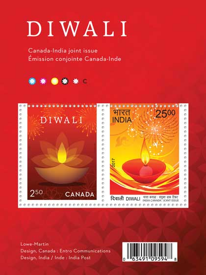 Canada India Joint Issue Stamp