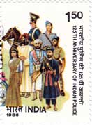 125th Anniversary of Indian Police