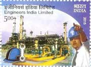 Commemorative stamp on Engineers India Limited