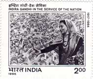 Indira Gandhi - In the Service of the Nation