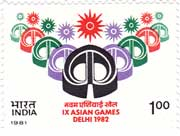 9th Asian Games, New Delhi