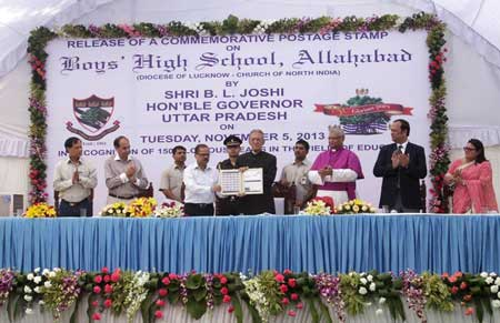 Boy's High School Stamp Release Function