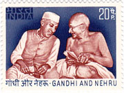 Independence Day - Nehru and Gandhi