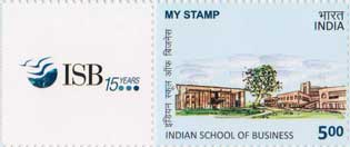 Indian School of Business My Stamp Sheetlet