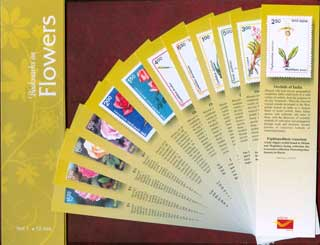 Bookmarks depicting Stamps