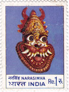 Indian Masks - Narasimha